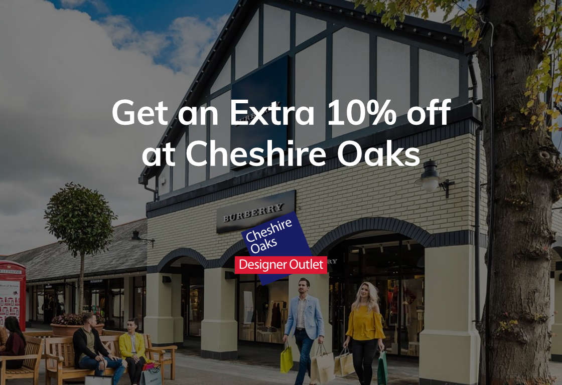 Get an Extra 10% off at Chesire Oaks