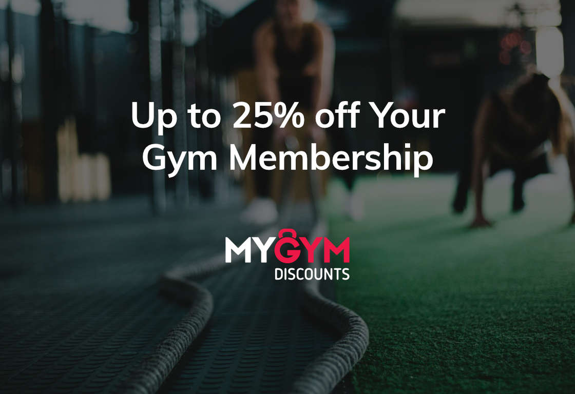 Up to 25% off Your Gym Membership